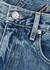 London blue straight-leg jeans - SLVRLAKE