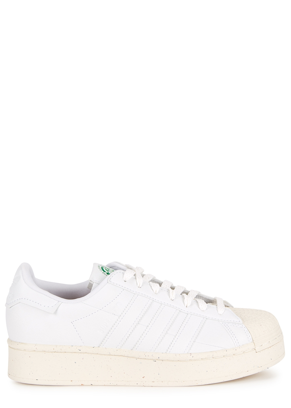 Superstar Bold Leather Sneakers ($100