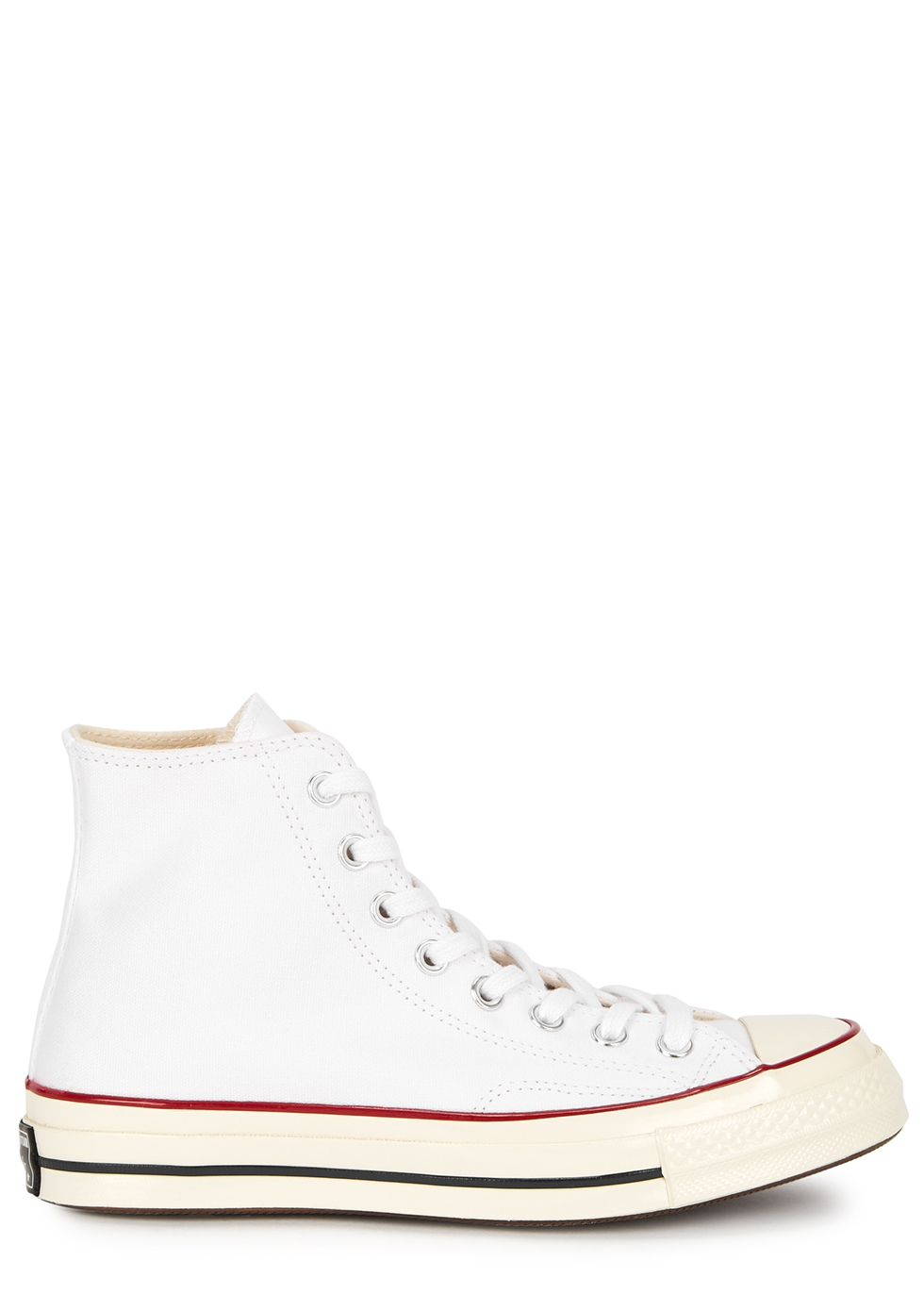 Chuck 70 white canvas hi-top sneakers