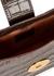 Baguette crocodile-effect leather cross-body bag - ELLEME