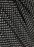 Claire polka-dot pleated cotton-blend midi skirt - RIXO