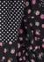 Tamara floral-print panelled cotton maxi dress - Rixo