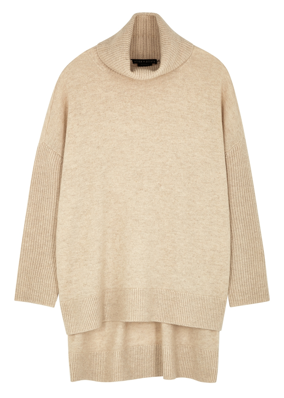 Sawyer oatmeal stretch-cashmere jumper