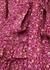Rina floral-print cotton mini dress - LoveShackFancy