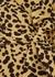 Elfrida leopard-print wrap dress - Faithfull The Brand