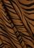 Janine tiger-print wrap skirt - Faithfull The Brand