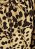 Tulienne leopard-print rayon mini dress - Faithfull The Brand