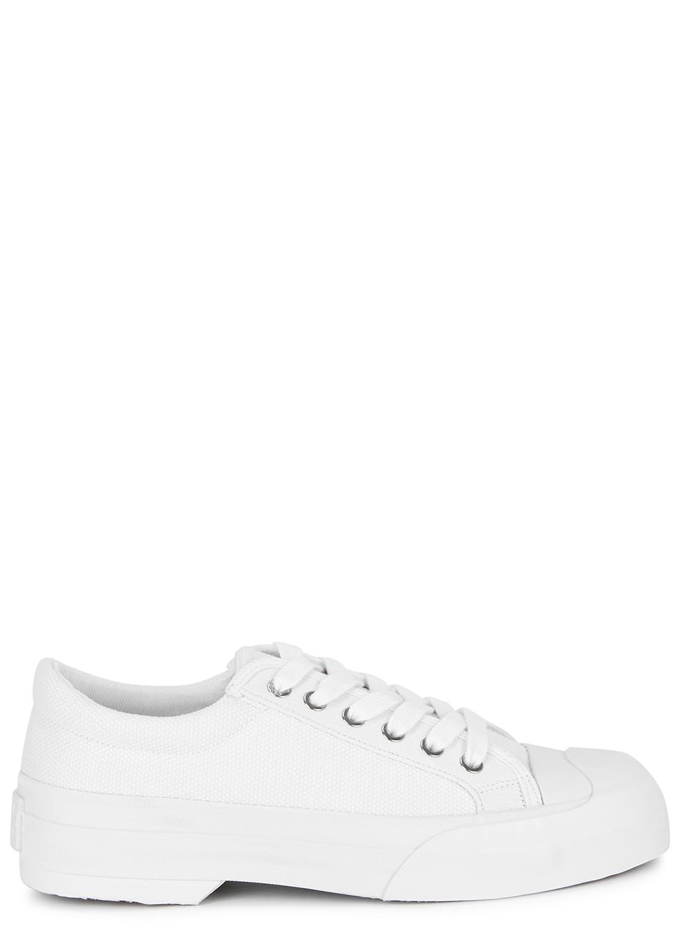 Good News Sunn white canvas sneakers