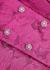 Newton dark pink jacquard blazer dress - ROTATE Birger Christensen