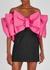Natalie bow-embellished satin mini dress - ROTATE Birger Christensen
