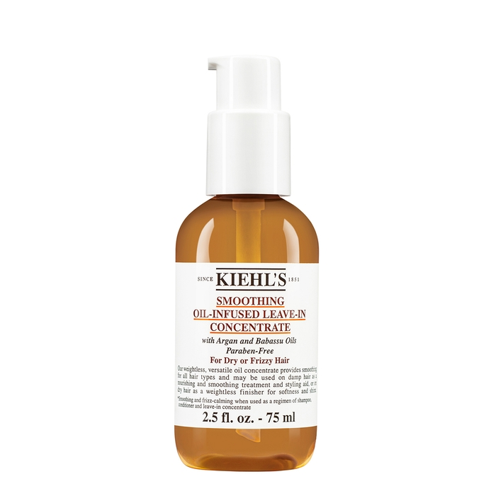 Kiehl's Since 1851 Smoothing Oil-infused Leave-in Concentrate 75ml