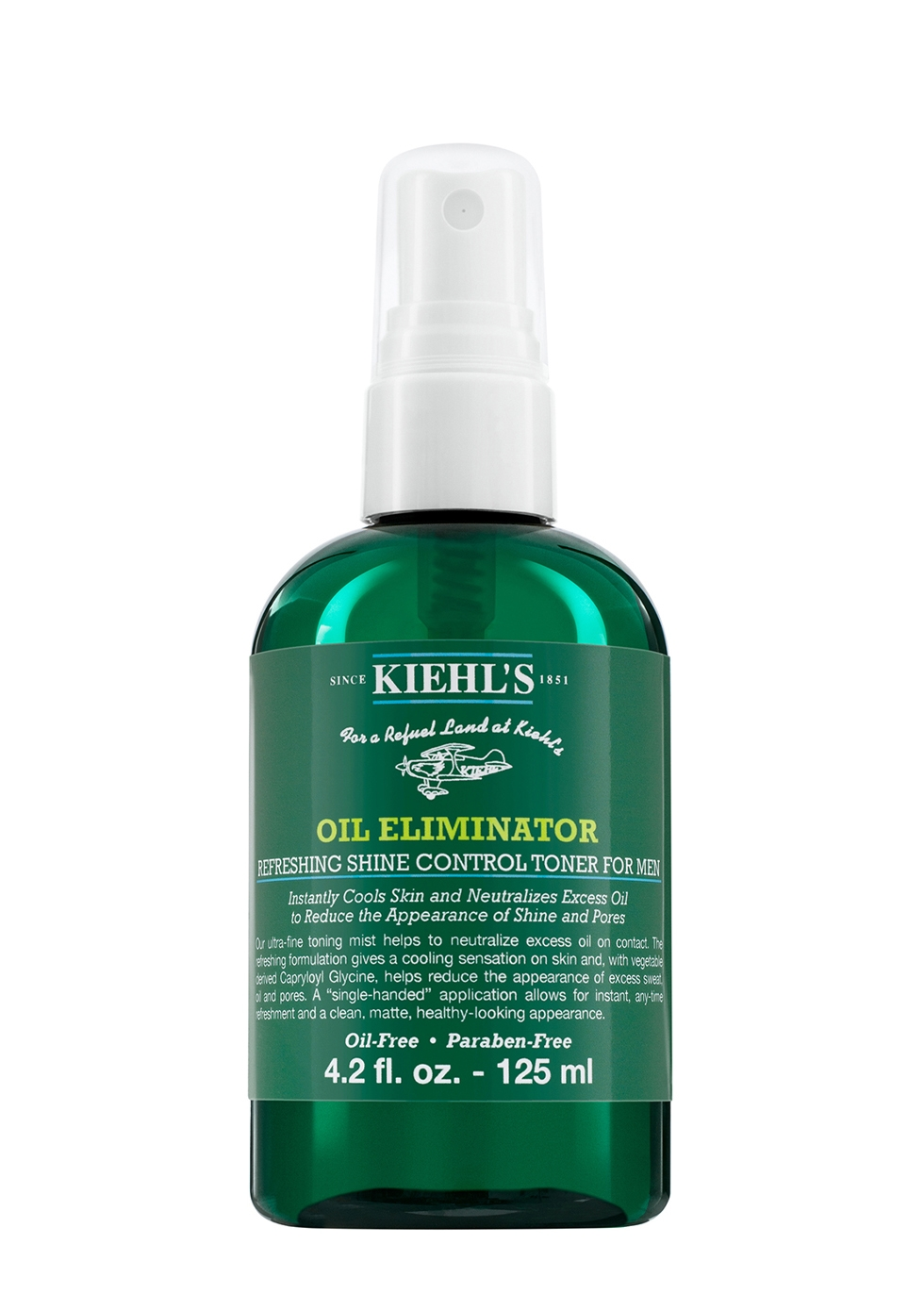 Men's Oil Eliminator Refreshing Shine Control Spray Toner 125ml
