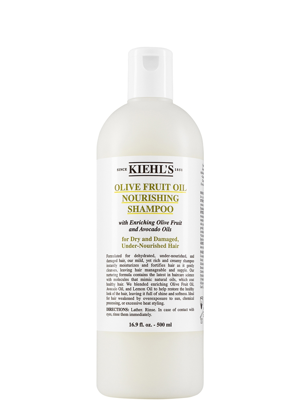 Olive Fruit Oil Nourishing Shampoo 500ml