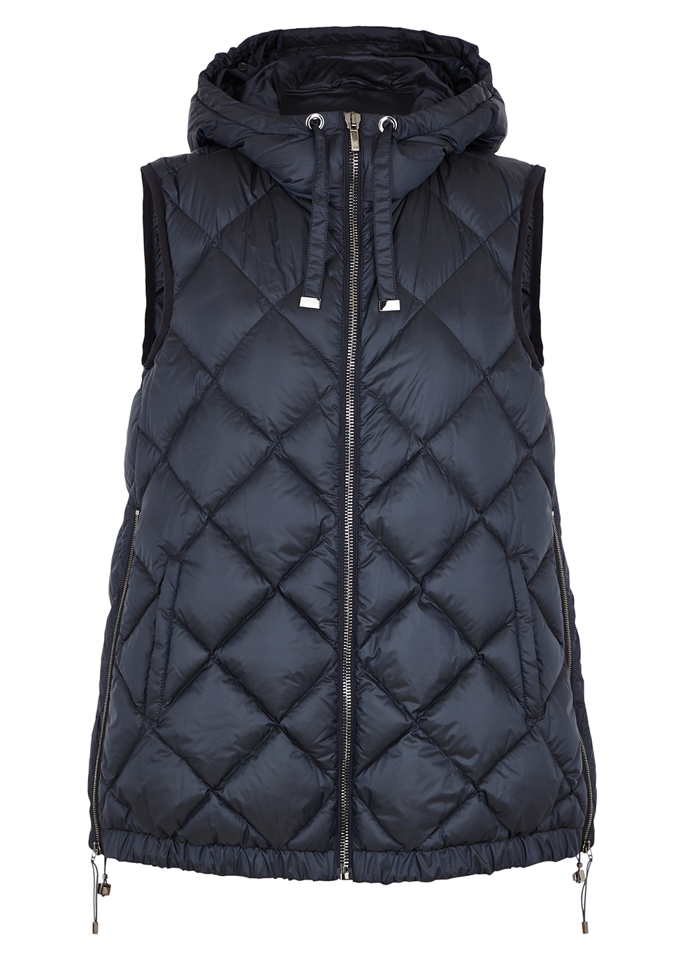 Tregil navy quilted shell gilet