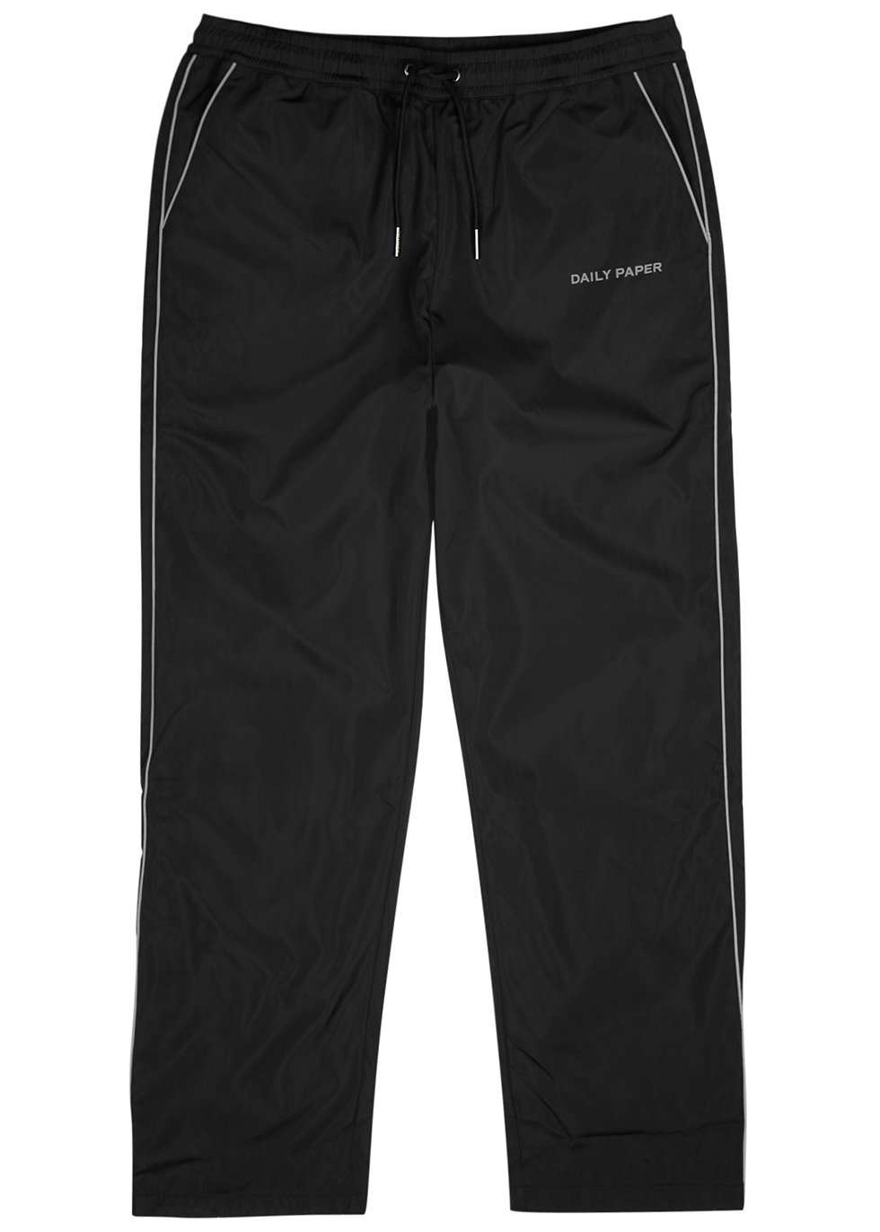 Etrack black shell sweatpants