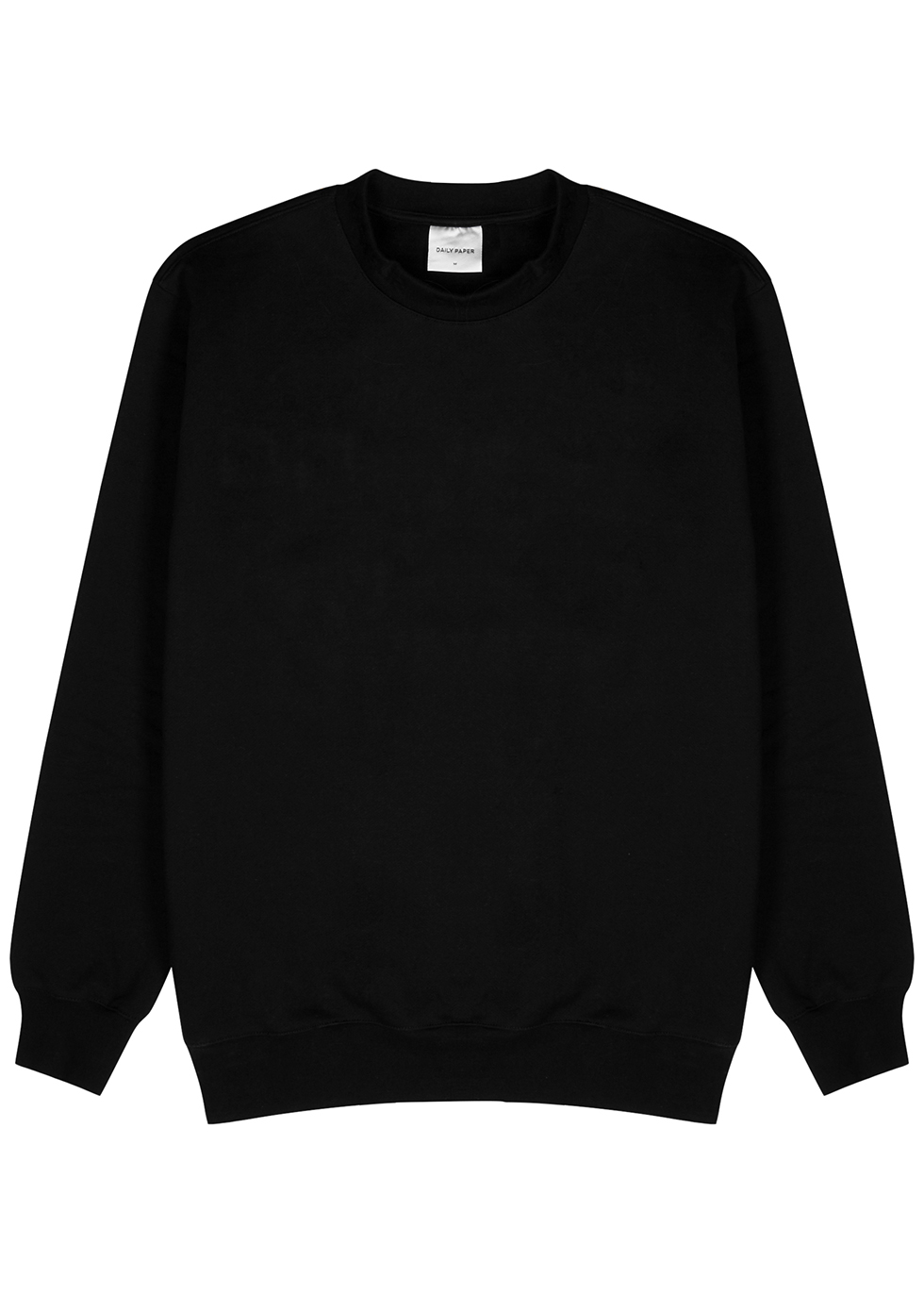 Derib black cotton sweatshirt