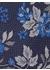 Allium floral tie blue - DUCHAMP LONDON