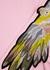 Pink parrot-appliquéd cotton-blend sweatshirt - RAGYARD