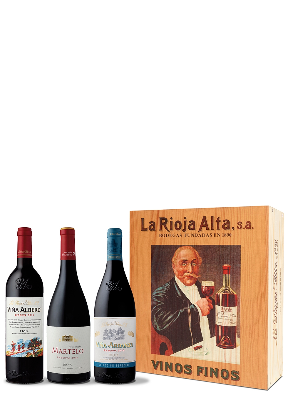 La Rioja Alta Premium Rioja Gift Box 3 x 750ml