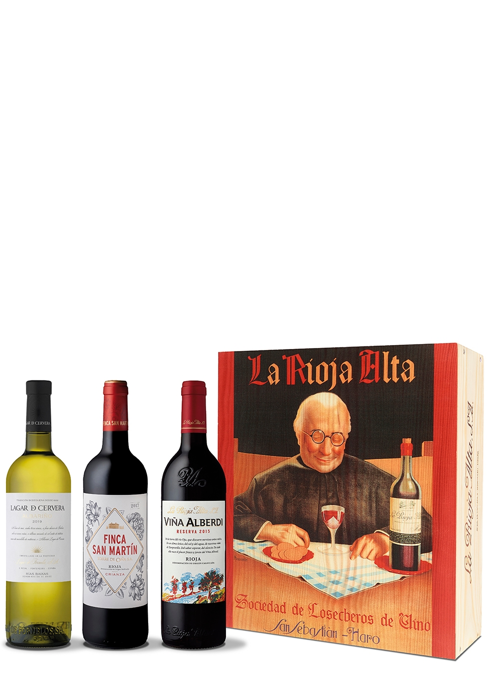 La Rioja Alta Discovery Gift Box 3 x 750ml