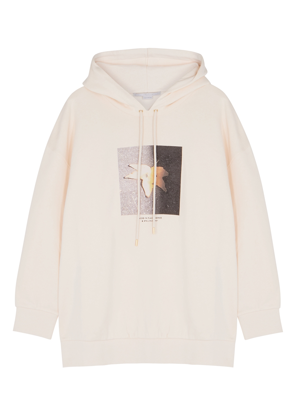 Faces In Places printed cotton sweatshirt