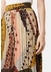 Pleated falls printed midi dress in multicoloured - Traffic People