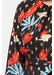 Cusp long sleeve mini dress in floral print - Traffic People