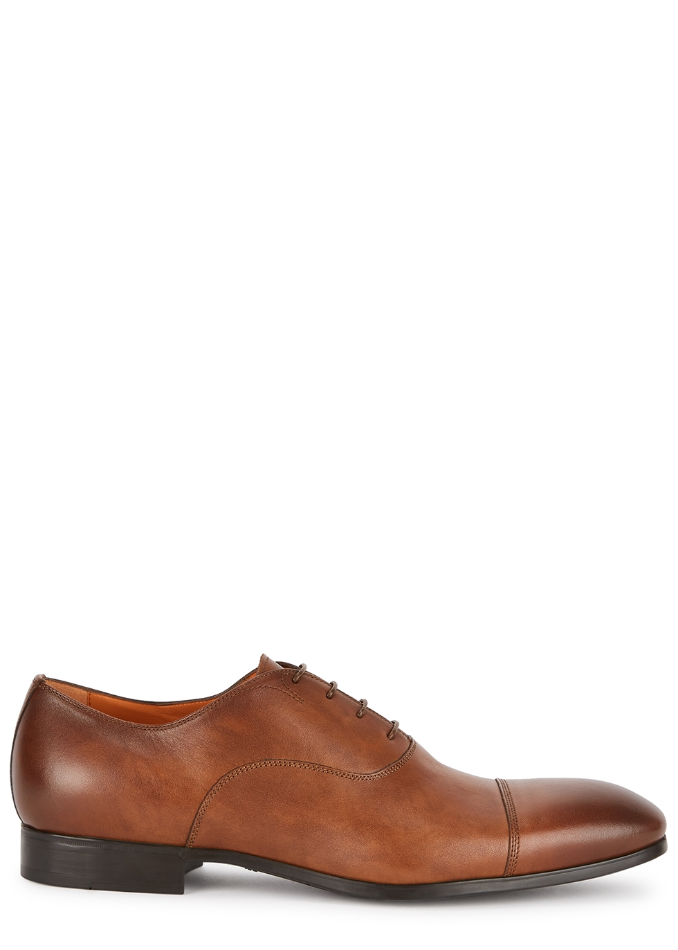 Simon brown leather Oxford shoes