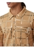 Mirrored check wool jersey polo shirt - Burberry