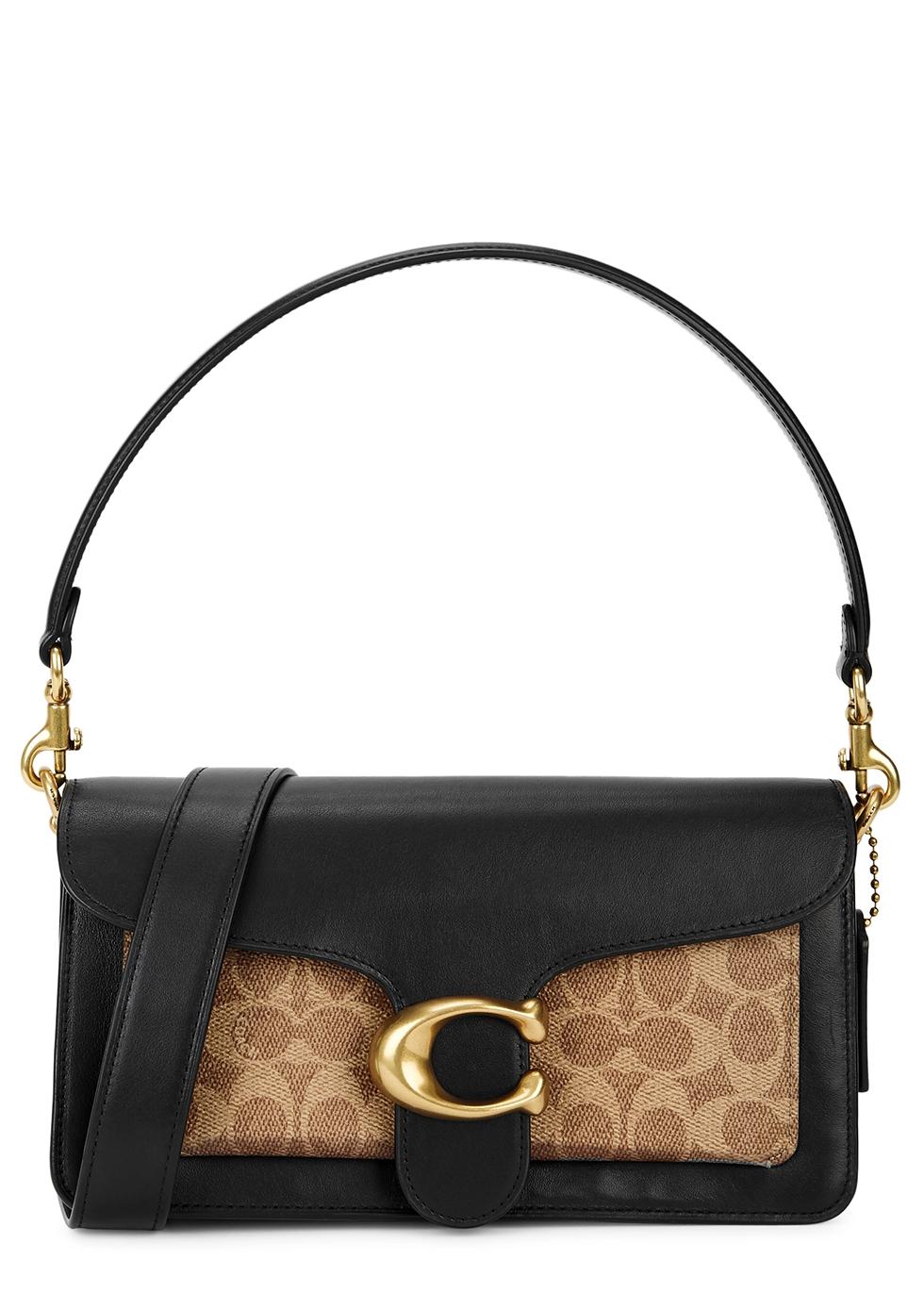 Tabby 26 black leather shoulder bag