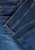 Tegan blue straight-leg jeans - J Brand