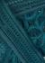 Raffine dark green lace thong - Wacoal