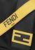 Baguette black striped cross-body bag - Fendi