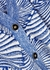 Cookie pattern-intarsia fine-knit cardigan - Baum und Pferdgarten