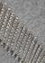 Grey crystal-embellished wool jumper - Christopher Kane