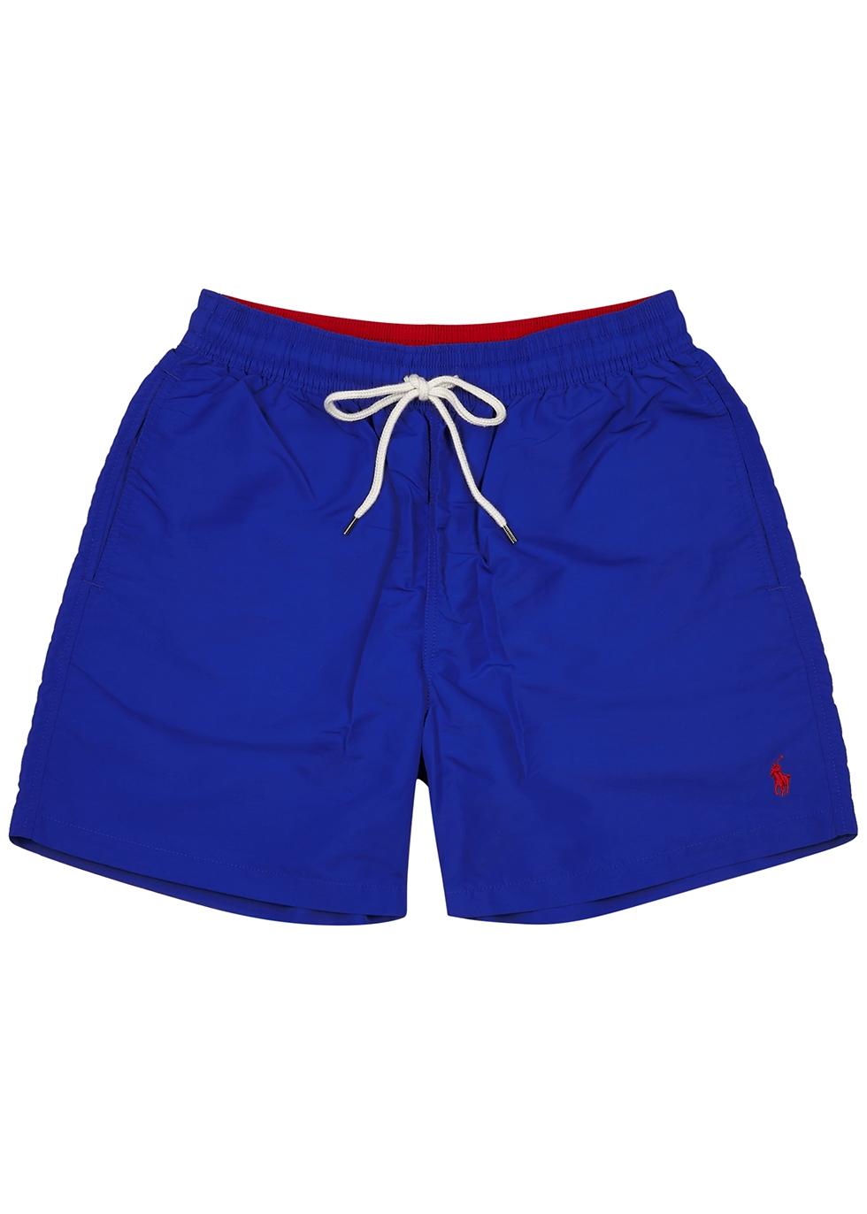 Hawaiian royal blue swim shorts