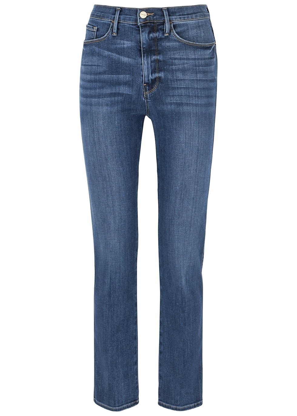Le Sylvie Slender blue straight-leg jeans