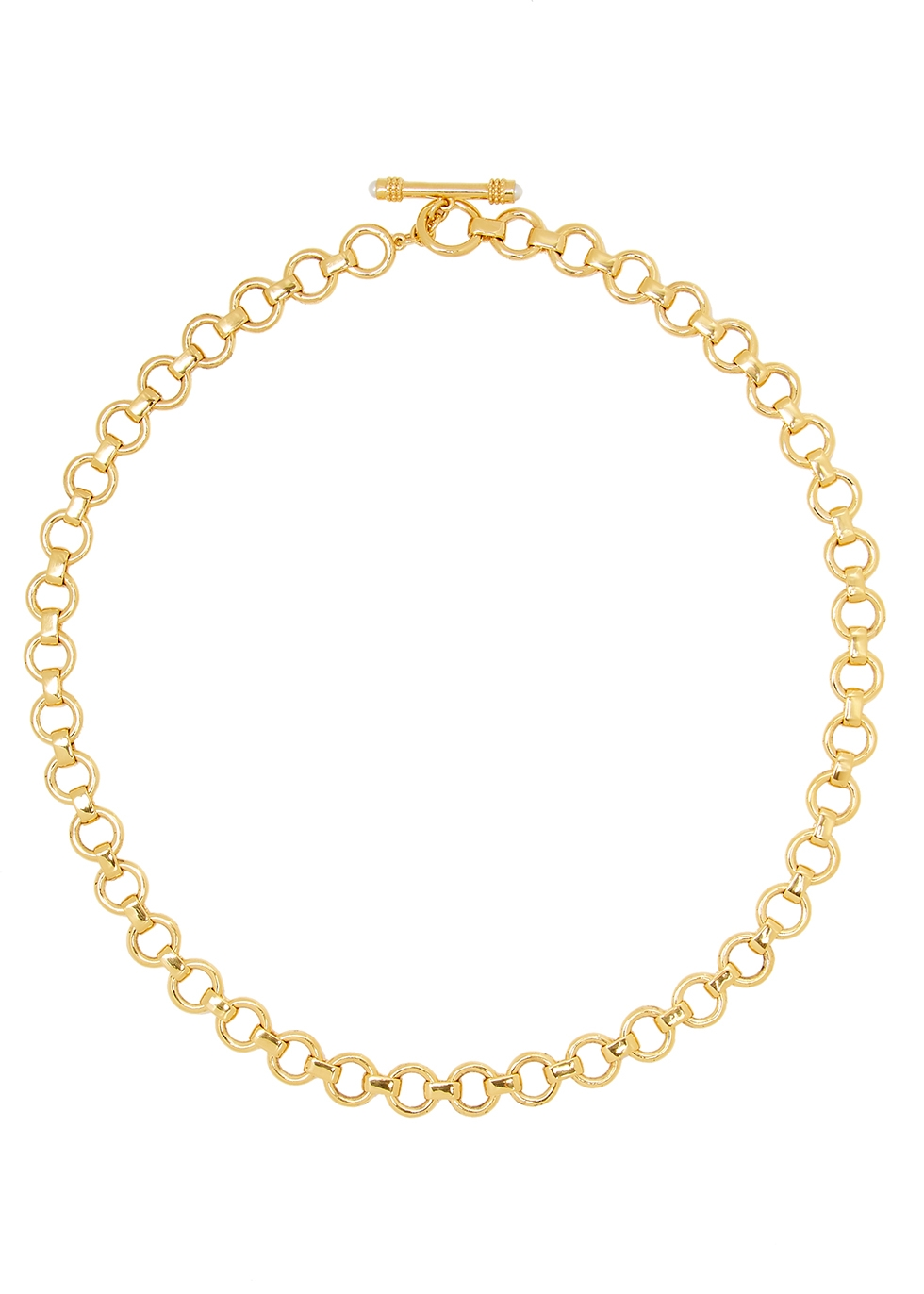 Baby Bea 18kt gold-plated necklace