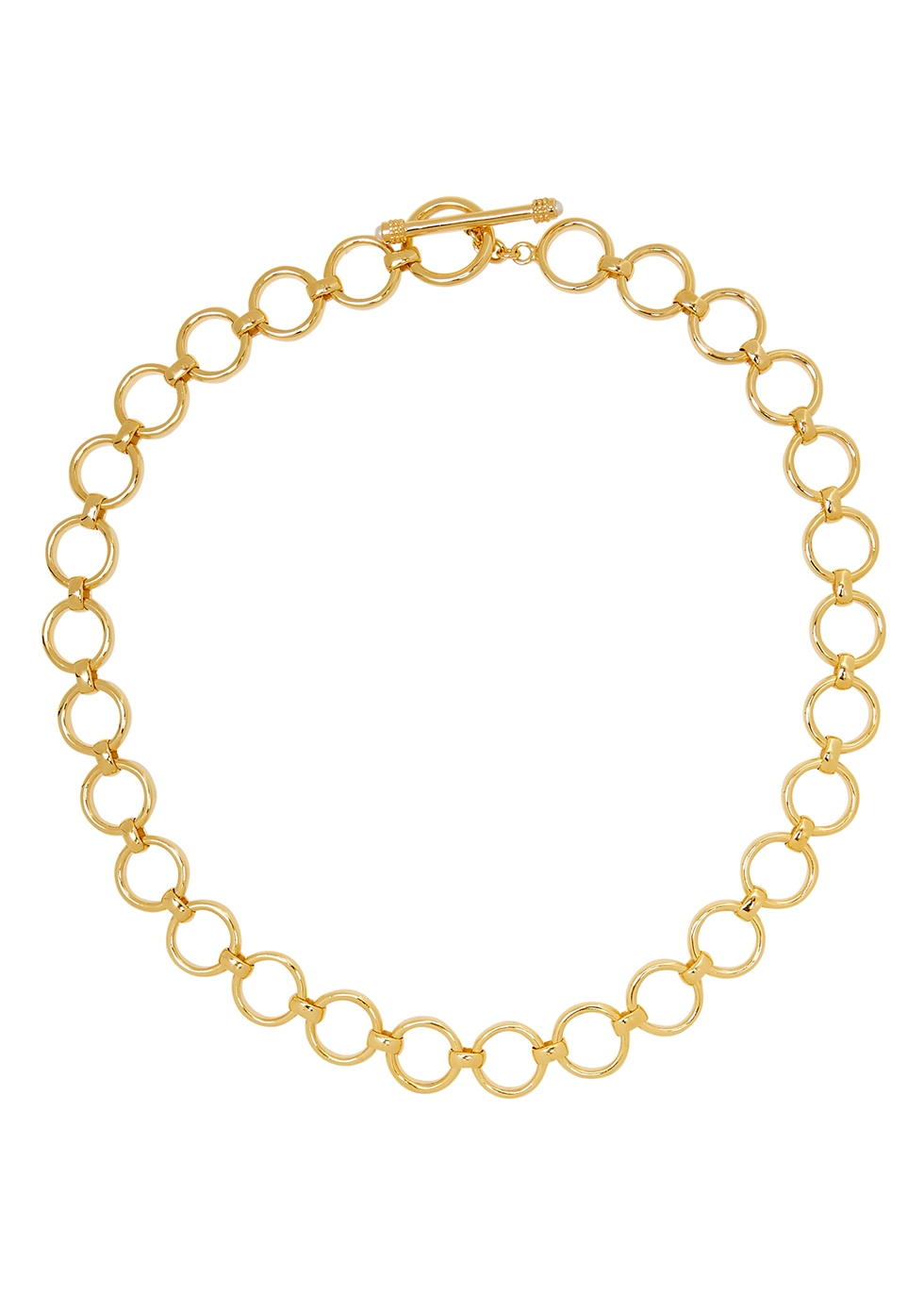 Bea 18kt gold-plated necklace