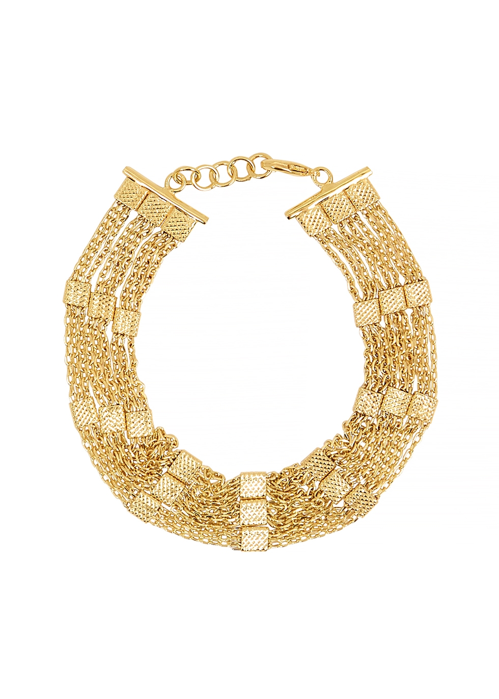 Niki 18kt gold-plated chain bracelet