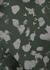 Kellam dark green printed bra top - Varley