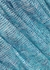 Blue metallic-weave fine-knit kaftan - Missoni Mare