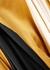 Andromeda panelled cape-effect silk dress - Roksanda