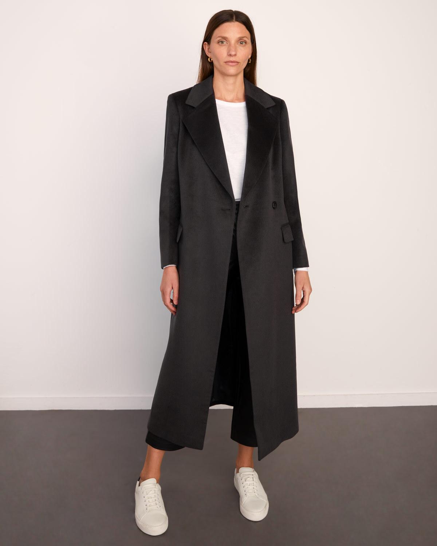 2020 Korean Coats For Women Designer Womens Coats Womens Long Winter Woolen Coats Army Green Open Front Split Back Coat From Placeordernow, $66.84  