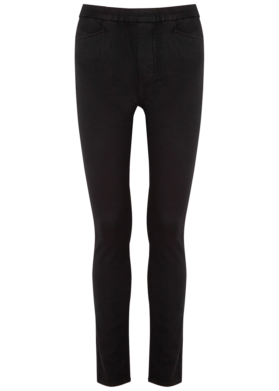 Hoxton Transcend black stretch-denim leggings