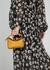 Puzzle mini yellow leather top handle bag - Loewe