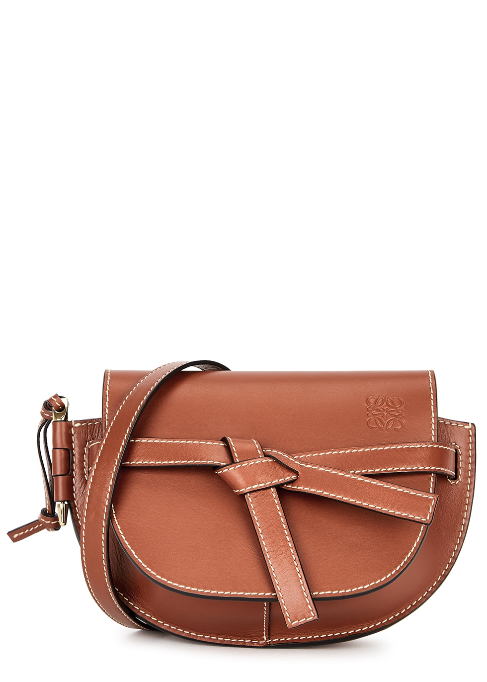 Gate mini leather cross-body bag