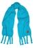 Blue mohair-blend scarf - Loewe