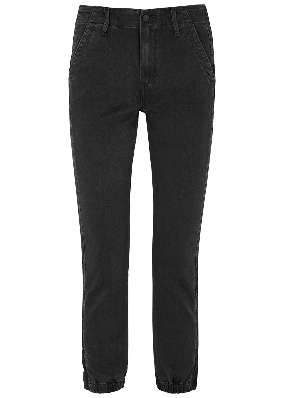 Mayslie Transcend black stretch-denim trousers