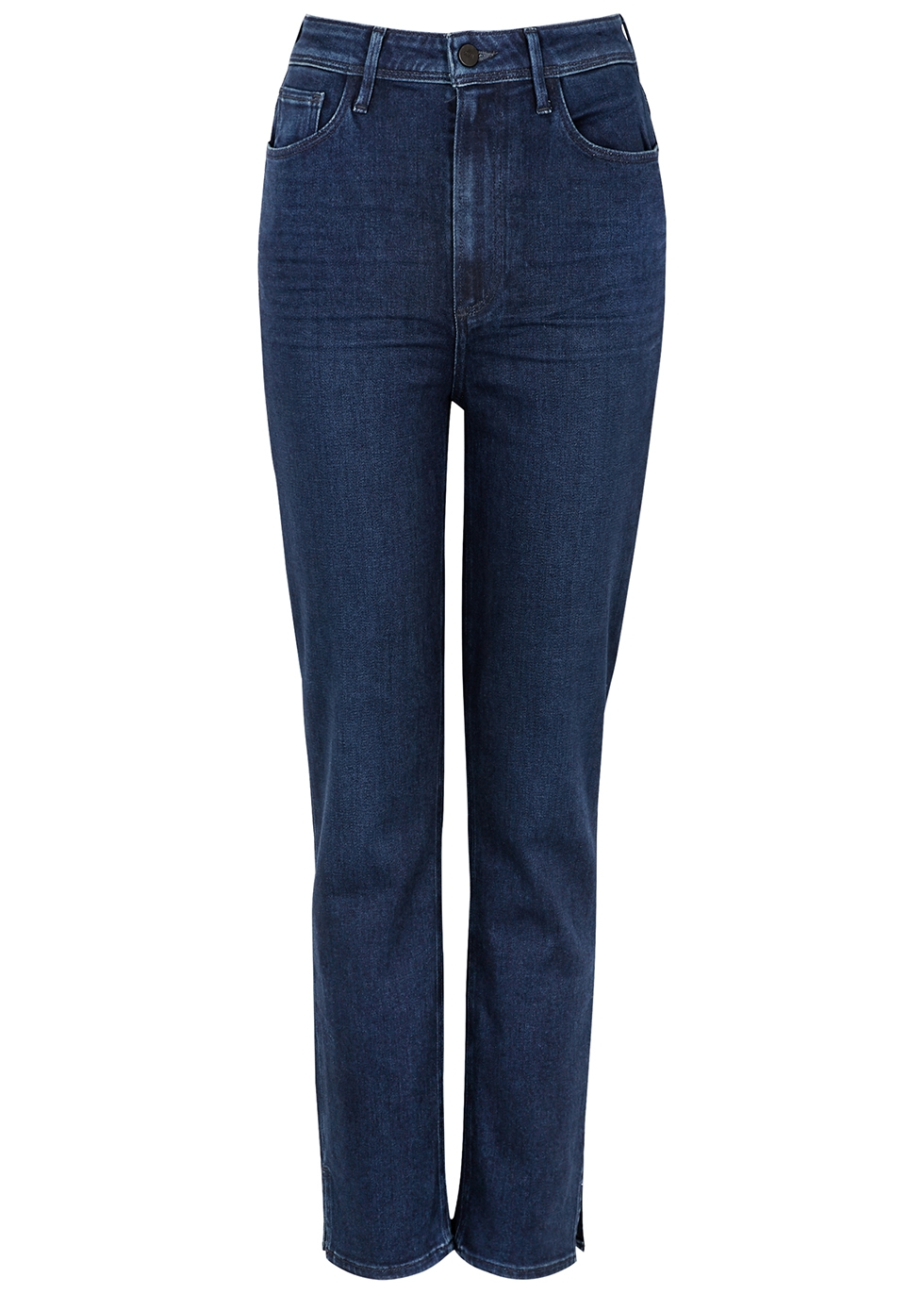 Cindy Transcend dark blue straight-leg jeans